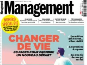 Interview pour le magazine management